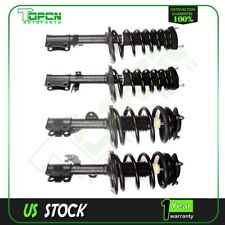 Both(4) Complete Struts Shocks & Coil Springs w/ Mounts for 07-11 Toyota Camry