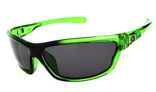 Mens Wrap Around Polarized Sunglasses UV400 Outdoor Sports Eyewear- Green NT01