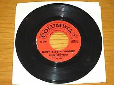 "ROCK + ROLL 45 RPM - BUZZ CLIFFORD - COLUMBIA 41876 - ""BABY SITTIN' BOOGIE"""