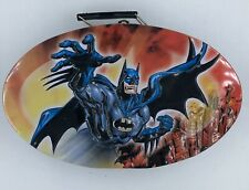 BATMAN Cartoon Collectible Tin Container/Lunchbox with Latch and Handle