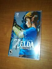 Legend of Zelda: Breath of the Wild Custom Cover/Case Nintendo Switch NO GAME