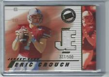 Eric Crouch Nebraska Cornhuskers Football 2002 Press Pass College Jersey Card