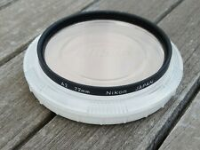 Nikon 72mm A2 (81A) Warm Up Filter(inc Nikon CP-5 Case) - Cleaned and Checked