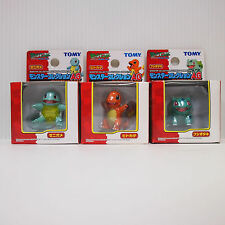 Bulbasaur Charmander Squirtle Tomy Figure Pokemon Moncolle MC 3rd  Authentic