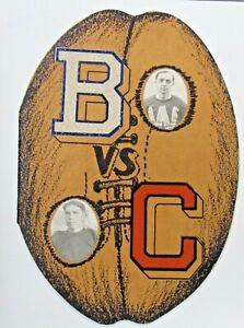 1930 BELLINGHAM NORMAL Western Wash. v CHENEY NORMAL Eastern football program