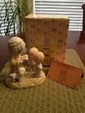 PRECIOUS MOMENTS -FEED MY LAMBS - RETIRED EXCLUSIVE FIGURINE
