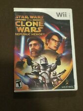 Nintendo Wii Video Game Star Wars The Close Wars Republic Heroes Rated T