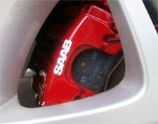 8x Saab Aufkleber Bremssattel brake caliper Türgriff Alufelge Set Logo