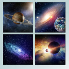 Canvas Prints Painting Picture Wall Art Home Office Decor Outer Space 4PC Framed