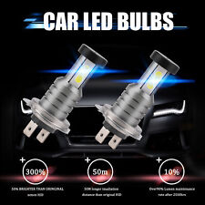 110W 30000LM H7 Voiture LED Phare Feux Lampe 3000K&6000K Remplace Xenon Kit Neuf