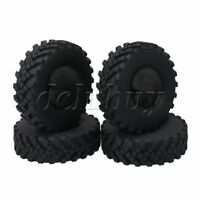 4pcs RC Rock Crawler Soft Rubber Tires OD 130mm for RC1:10 2.2in Wheel Rims