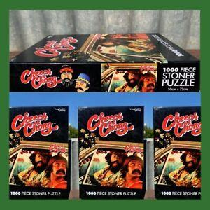 Cheech & Chong 1000 Piece Stoner Jigsaw Puzzle - Brand New - 420 ~ Weed Activity