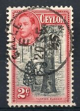 CEYLON = POSTMARK - `GALLE` 1945 Single Ring.