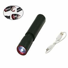 Rechargeable LED USB Flashlight Torch Flash Light Lamp Lighting With USB Charger