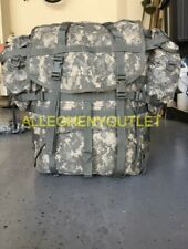 US Military ACU Molle II Large RuckSack with Frame, Kidney Pads and 2 Pouches GC