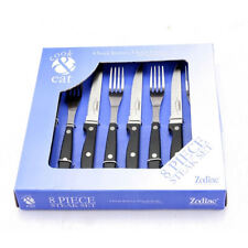 Stainless Steel Plastic Handle Steak Knife Loose Cutlery