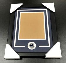 Penn State Nittany Lions Medallion Frame Kit 8x10 Photo Double Mat Vertical