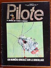 Pilote journal d'Astérix n°708; Un numéro Bricolé sur le Bricolage