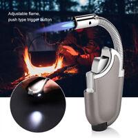 Gas Butane Burner Torch Welding Lighter Ignition Outdoor Butane Flame Lighter