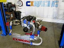 CXRacing Twin Turbo Intercooler Kit For 04-06 Pontiac GTO Holden Monaro LS1 LS2