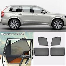 4Pcs Car Side Window Sun Shade Protection Ray Blocking Mesh Visor For Volvo XC90