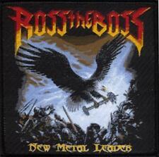 """Ross the Boss """" New Metal Leader """" Patch/Aufnäher 601594 #"""