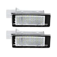 For Renault  Clio III IV Espace IV fluence Twigo II LED License Plate Light 2pcs