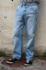 LEVIS 131 Loose fit Relaxed Mens Jeans Light Blue Denim Faded Red Tab W32 L29