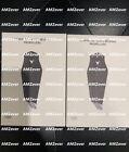 2 pairs Original DJI Mavic PRO Platinum 8331Quick-Release Propellers - Silver