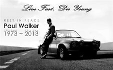 """Fast and Furious 7 Paul Walker Movie star hot wall  Poster  40""""x24""""  037"""