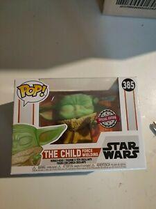 Funko POP! Vinyl #385 The Child force wielding - Star Wars - IN STOCK