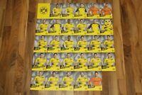 29 Autogrammkarten Borussia Dortmund BVB 2017/18 17/18 Asien Tour China DFB RAR