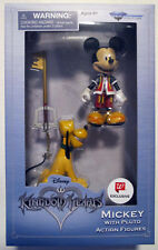 MICKEY MOUSE & PLUTO kingdom hearts action figure NEW birth by sleep EXCLUSIVE
