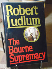 Robert Ludlum, The Bourne Supremacy, Signed, 1st Edition,1st Edition, 1986