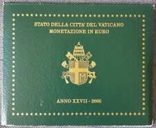 Coffret série monnaies euros Vatican 2005 BU - Jean-Paul II