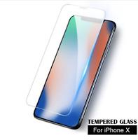 2x iPhone X/Xs Panzer 9H Schutzglas tempered glass 0,3mm Echtglas Folie Cover
