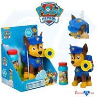 Paw Patrol Children's Bubble Blower Machine & Bubbles ChaseToy Game Activity