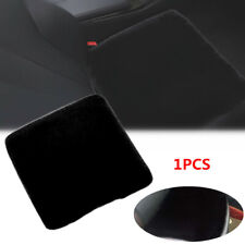 1PCS Car Seat Pad Black Rabbit Fur Cushion Home Chair Cover Warm Winter Non-slip