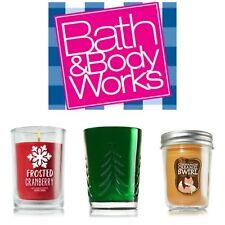 Buy 1 get 1 25% Off! -- Bath Body Works Single Wick Medium Jar Candles