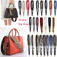 Adjustable PU Leather Handbag Cross-body Shoulder Bag Strap Handle Replacement C