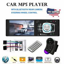 4.1 HD Single 1DIN Car Stereo Video MP5 Player Bluetooth FM Radio AUX USB SD TF