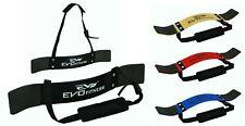 EVO Weightlifting Arm Blaster Biceps Isolator Gym Support Strap Bodybuilding PRO
