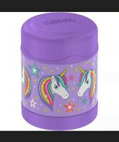Thermos Unicorn 10oz FUNtainer Food Jar Insulated Lavender