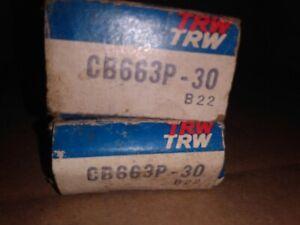 2 Engine Connecting Rod Bearing TRW CB663P-30