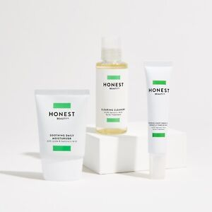 Honest Beauty Clearing Acne Regiment Kit With Night Serum & Daily Moisturizer
