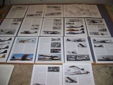 VINTAGE...CONSOLIDATED PBY-5A HISTORY..CUTAWAY/3-VIEWS/PROFILE..RARE! (889)