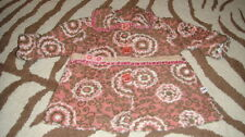 CORKY & COMPANY 2T FLORAL COAT PINK AND BROWN