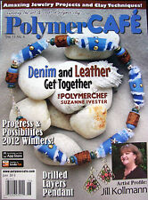 PolymerCAFE Polymer Cafe Clay Magazine New - June 2013 Queen of Hearts Bracelet