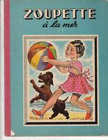 Zoupette à la mer. Illustrations SABRAN. Ed. GP 1949.