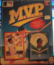 Score M.V.P. Mark McGwire Oakland Athletics card & pin